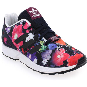 Soldes - Baskets mode Adidas Originals ZX FLUX Multi Enfant fille