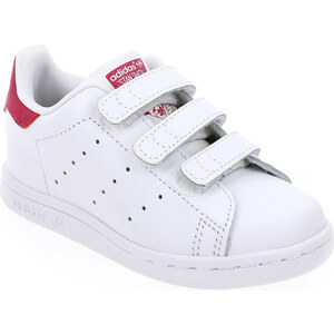 Baskets mode Enfant fille Adidas Originals en Cuir Blanc