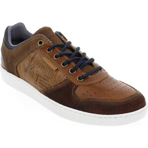 Chaussures à lacets Bullboxer 735 K2 5144D Camel pour Homme en Cuir - Promo