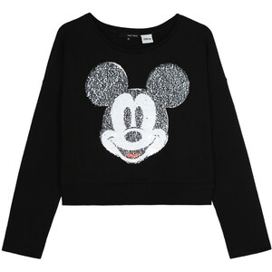 Tally Weijl Sweat Noir Mickey