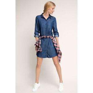 Esprit Robe chemise légère en jean