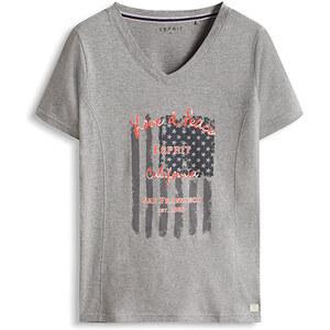 Esprit T-shirt sport imprimé, en jersey de coton