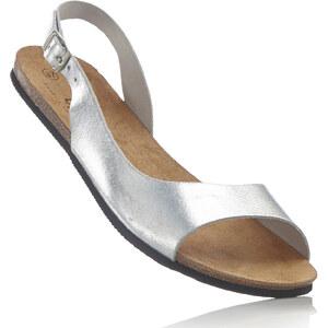 bpc bonprix collection Sandales en cuir gris chaussures & accessoires - bonprix