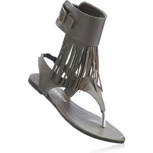 RAINBOW Sandales entredoigt vert chaussures & accessoires - bonprix