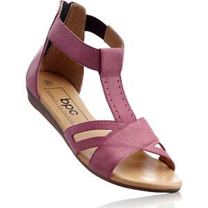 bpc bonprix collection Sandales cuir fuchsia chaussures & accessoires - bonprix