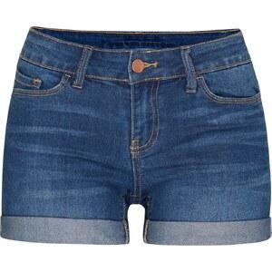 VILA Jeansshorts im Used Look