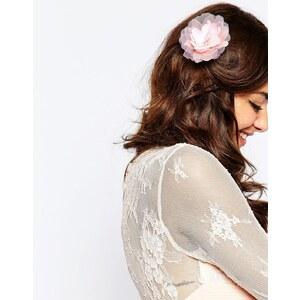 ASOS - Haarspange mit Vintage-Blume - Rosa