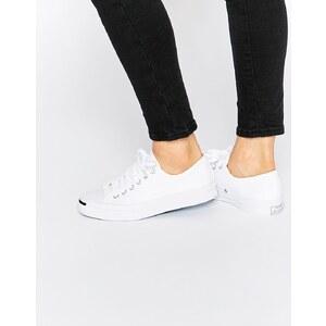 Converse Jack Purcell - Weiße Sneakers aus Stoff - Weiß