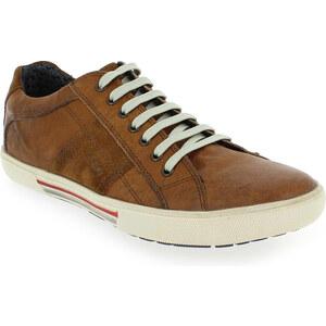 Chaussures à lacets Homme Base London en Cuir Camel