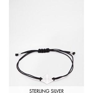 Pilgrim - Freundschaftsarmband mit geometrischer Schiene - Silber