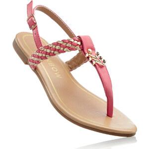RAINBOW Sandales entredoigt fuchsia chaussures & accessoires - bonprix