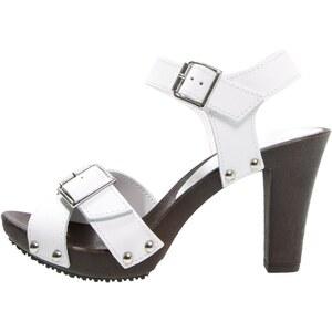 s.Oliver High Heel Sandaletten white