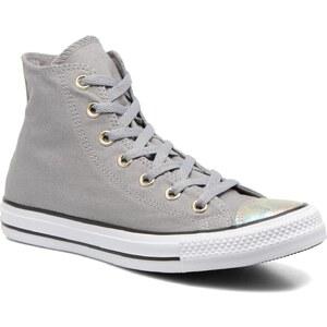 Converse - Chuck Taylor All Star Hi Oil Slick Toe Cap W - Sneaker für Damen / grau
