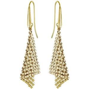 Swarovski Fit Small dorées Boucles d'Oreilles 5143060 - Bijou pour Femme Swarovski en métal argenté doré