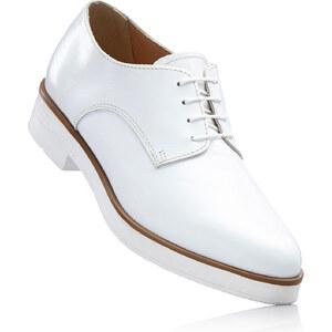 RAINBOW Chaussures cuir à lacets blanc chaussures & accessoires - bonprix