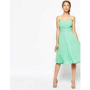 TFNC - Robe de bal mi-longue - Vert