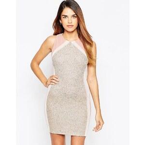 TFNC - Mini robe moulante avec détail fantaisie au dos - Rose
