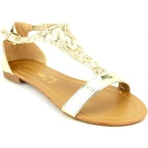 Sandale dorée VIVI RICH - Cendriyon