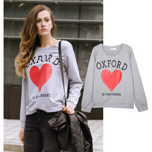 Lesara Sweater Oxford Is For Lovers - S