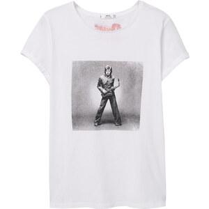 MANGO Baumwoll-T-Shirt Bowie