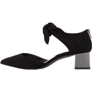 MANGO Chaussures À Talons Métallisés