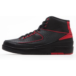 Air Jordan 2 Retro Black Varsity Red