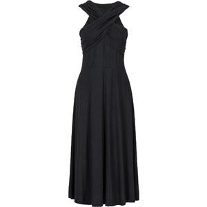 RAINBOW Shirtkleid/Sommerkleid ohne Ärmel in schwarz (Carmen-Ausschnitt) von bonprix