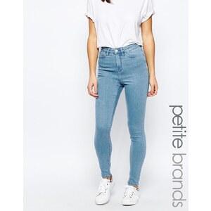 Waven Petite - Anika - Jean skinny taille haute - Bleu