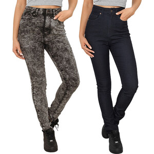 Jeans slim taille haute Urban Classics
