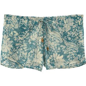 MANGO Fließende Shorts Mit Blumenmuster