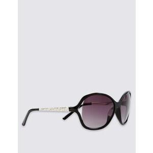 Marks and Spencer Übergroße Sonnenbrille mit ausgestanztem Design