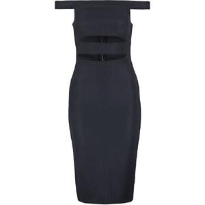 Topshop SLASH BARDOT Cocktailkleid / festliches Kleid navyblue
