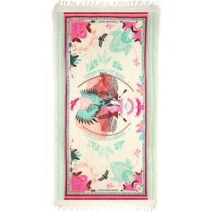 Paréo Amenapih Imprimé Rose Et Vert - Rodeo Beige