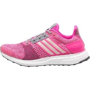 adidas Performance ULTRA BOOST ST Laufschuh Stabilität shock pink/halo pink/mineral red