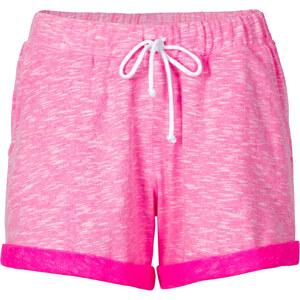 RAINBOW Sweatshorts in pink für Damen von bonprix