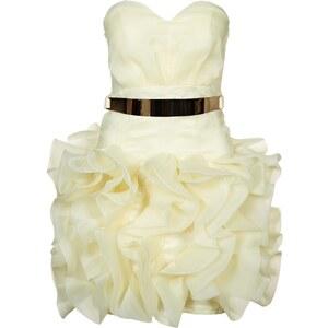 Opulence England Cocktailkleid / festliches Kleid cream