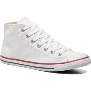 Converse - All Star Dainty Leather Mid W - Sneaker für Damen / weiß