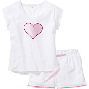 bpc bonprix collection Shorty ohne Ärmel in weiß für Damen von bonprix