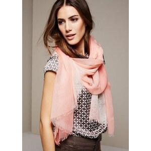 COMMA Hauchzarter Schal mit verspielten Farbfadings