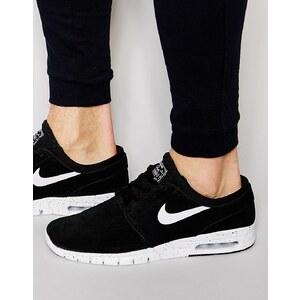 Nike SB - Stefan Janoski Max - Sneakers aus Leder, 685299-002 - Schwarz