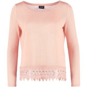 Vila VIFIKS Strickpullover coral pink