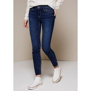 COMMA Klassische Jeans im schönen Used-Look