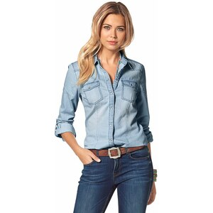 Only Jeansbluse »Always Rock it«