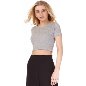 Fluid Damen Top Grau