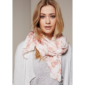 COMMA Weicher Schal mit raffiniert gestaltetem Alloverprint