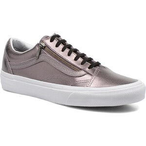 Vans - Old Skool Zip - Sneaker für Damen / silber