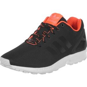 adidas Zx Flux chaussures core black / solar orange