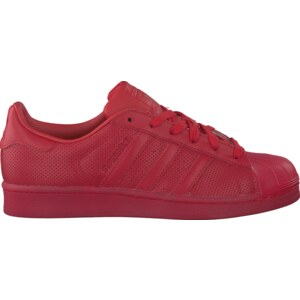 Rote Adidas Sneaker SUPERSTAR ADICOLOR