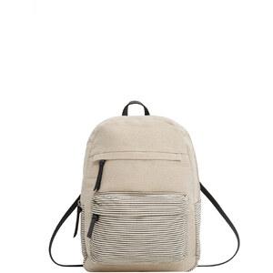 MANGO Rucksack Mit Fronttasche