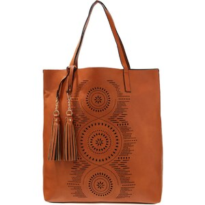 New Look Shopping Bag tan